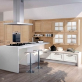 Кухня Dream Biancospiro; Фабрика Concreta cucine