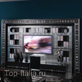 Панель для TV The Wall Gold/Silver Eyes Home Cinema ; Фабрика Vismara