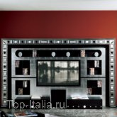 Панель для TV The Wall Glass Eyes - Home Cinema; Фабрика Vismara