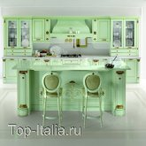 Кухня Belle Epoque Verde Flow; Фабрика Tomassi