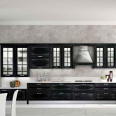 Кухня Dream Silver Black; Фабрика Concreta cucine