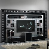 Панель для TV The Wall Home Cinema Black & White; Фабрика Vismara