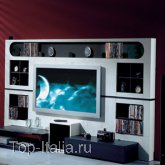 Панель для TV The Wall Classic - Modern; Фабрика Vismara
