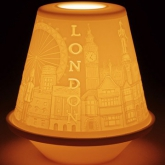 Литофания Votive Light - London; Фабрика Lladro