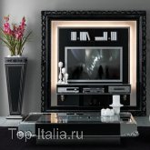 Панель для TV The Frame Home Cinema Black & White; Фабрика Vismara